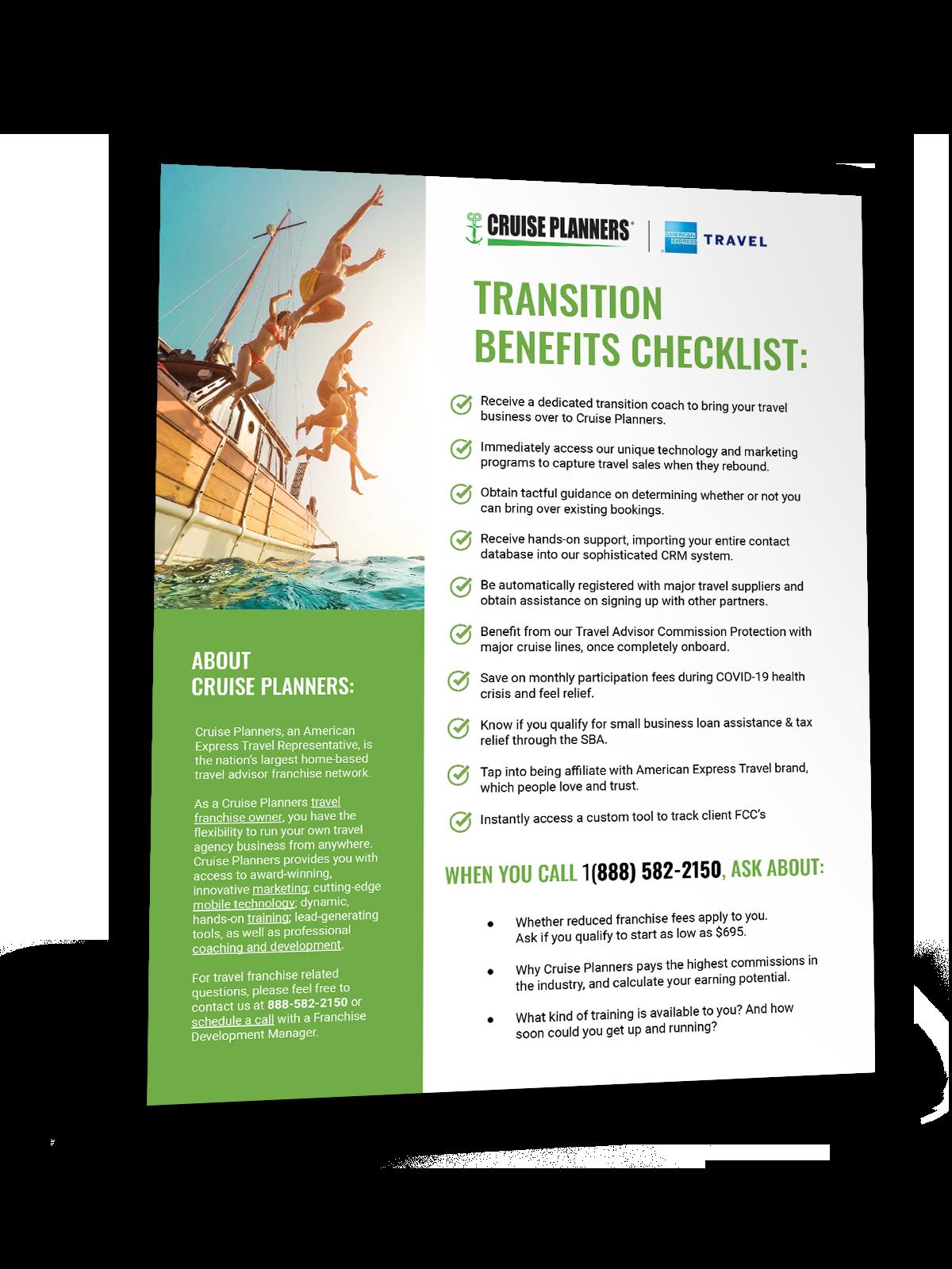 CP World Transition Checklist